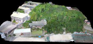久徴園の3Dマップ